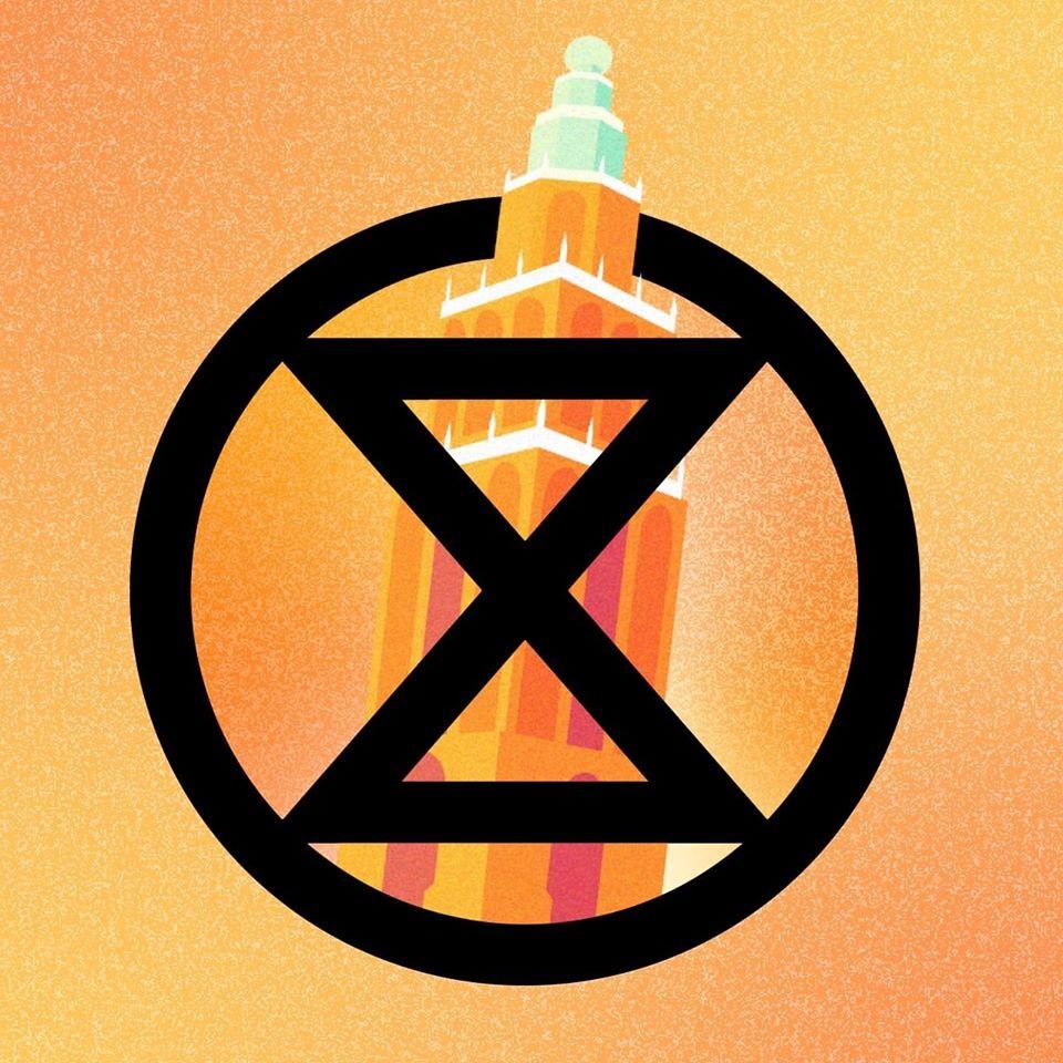 Extinction Rebellion Groningen logo