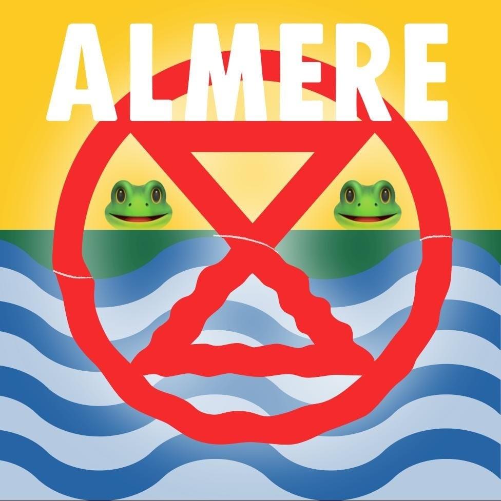 Extinction Rebellion Almere logo