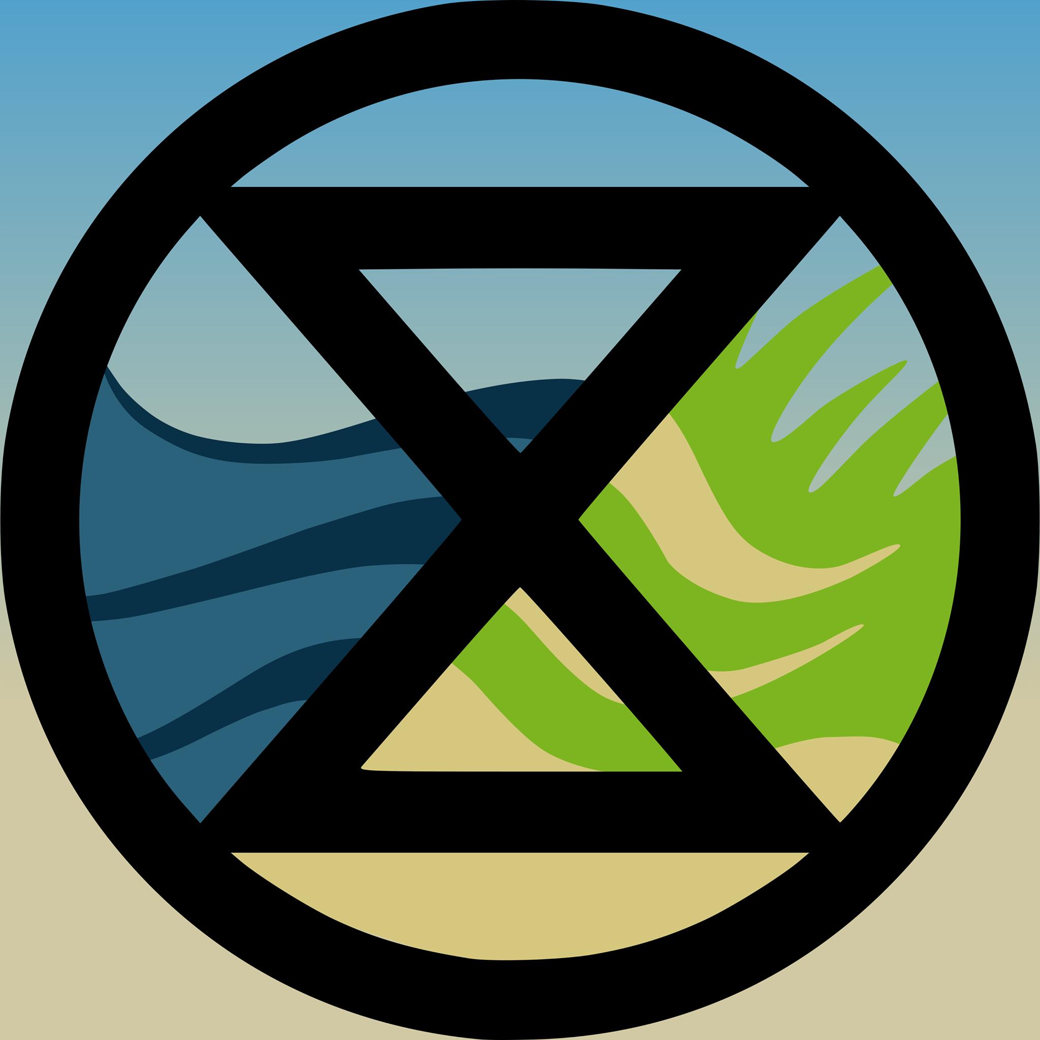 Extinction Rebellion Castricum logo