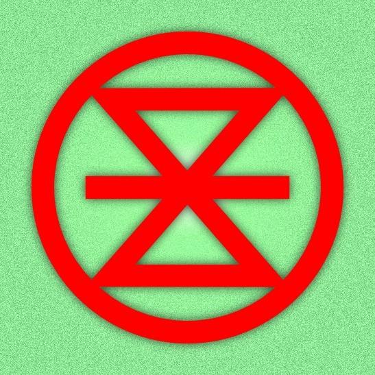 Extinction Rebellion Enschede logo
