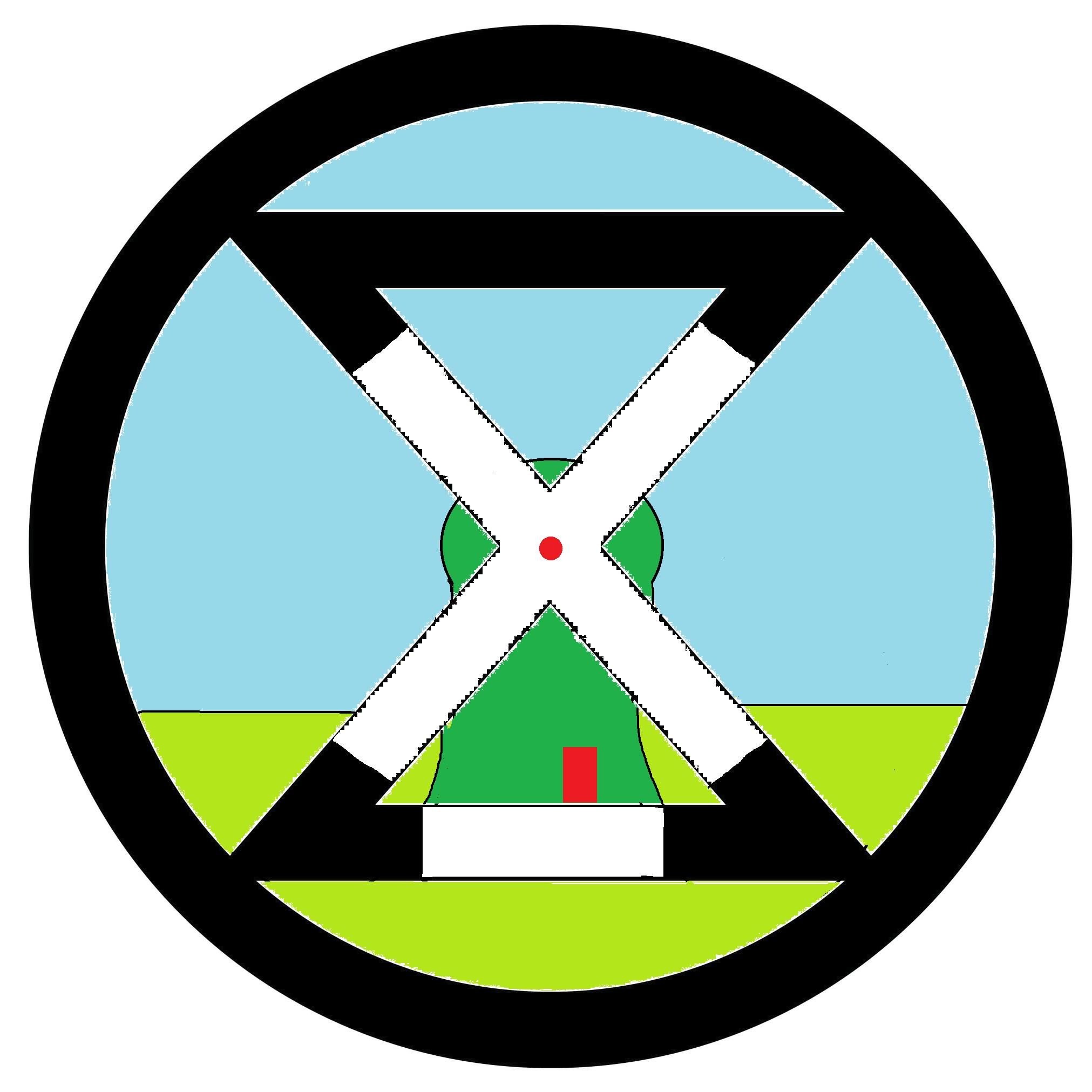 Extinction Rebellion Zaanstreek logo