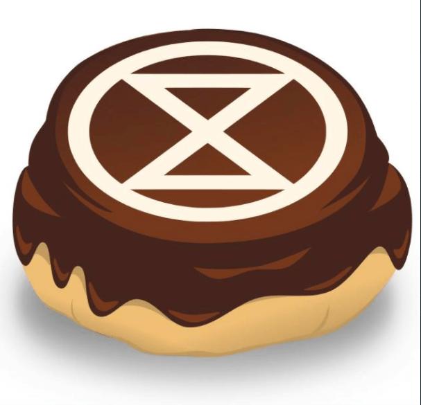 Extinction Rebellion Den Bosch logo