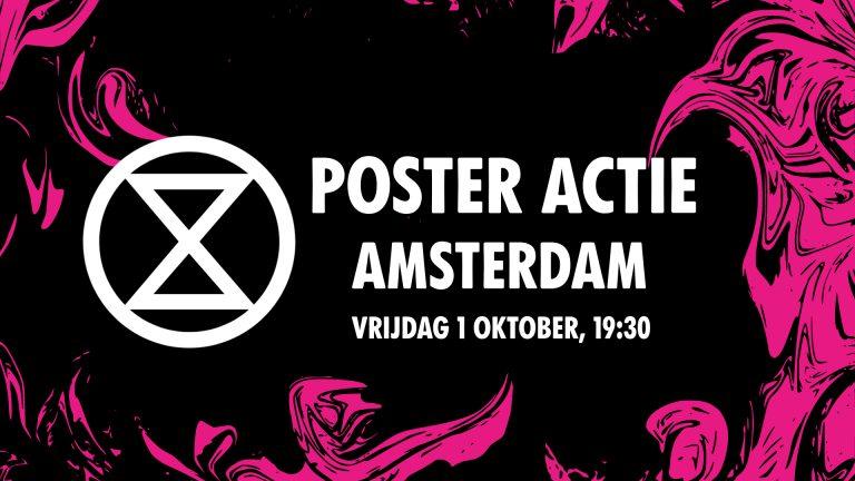 poster actie amsterdam